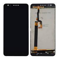 Дисплей (LCD) HTC 825 Desire с сенсором черный