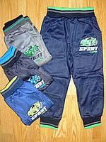 Спортивные штаны утепленные на мальчика оптом, Active Sport, 6-36 рр.