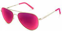 Солнцезащитные очки Polaroid Очки женские с поляризационными зеркальными линзами POLAROID (ПОЛАРОИД) P6012N-J5G56AI