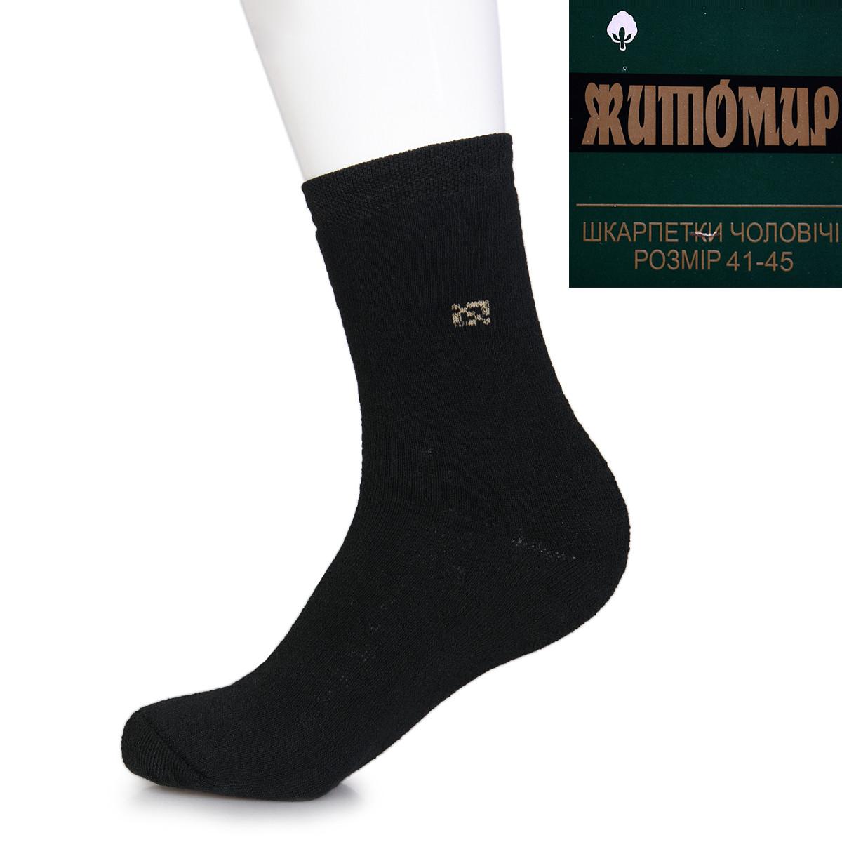 Носки мужские махровые Житомир 41-45 198-2Mdrn  носки  Украина