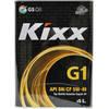 Моторное масло Kixx G1 5W-40 SN/CF 4л