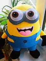 Мягкая игрушка Миньон плюшевый 3д глаза, 50 см
