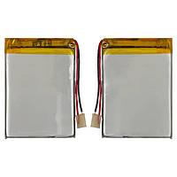 Батарея (АКБ, аккумулятор) для китайских планшетов/телефонов, универсальный, 1150 mAh, 60х43х4,0 мм