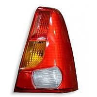 Фонарь задний желтый правый в сборе (с лампочкой) Logan фаза 1 ASAM 30308