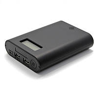 Универсальный мобильный аккумулятор и зарядное устройство Soshine E3S (1-4x18650) чёрный. Дешево. Код: КГ2104