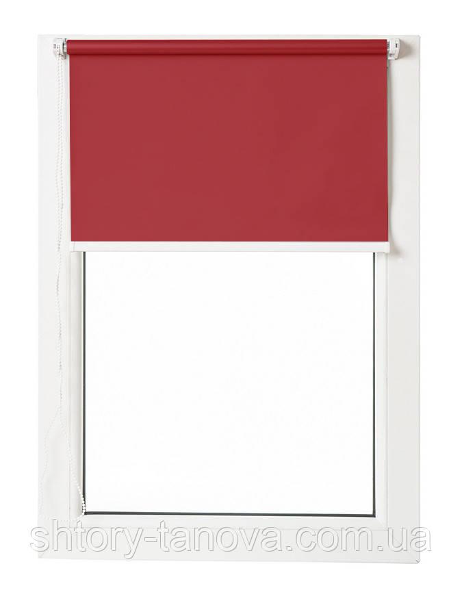 Термо ролети Арджент (червоний)