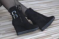 Ботинки на такетке  утепленныебайкой  с 36 по 41 размер в наличии