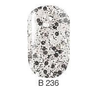 Гель-лак для ногтей Naomi  Brilliant Collection №236