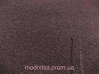 Шерсть вареная пальтовая Баритон (Сумы) (баклажан) (арт. 01208) отрез 1,0 м