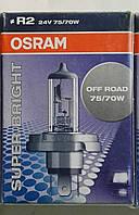 Лампа автомобильная фары 24V 75/70W P45t OSRAM 64199SB (24-75+70)