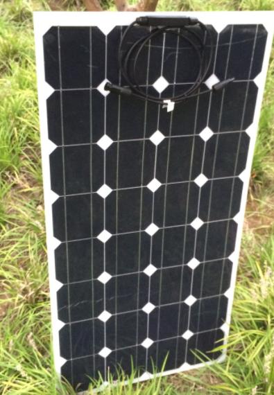 Гнучка сонячна батарея 100 Вт 12 В (32-100)
