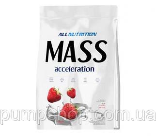 Гейнер AllNutrition MASS Acceleration 1 кг (20% белка)