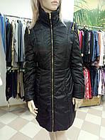 Пальто женское демисезонное черное