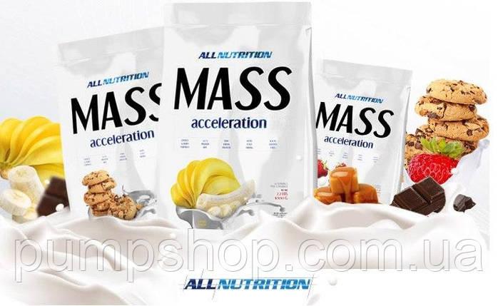 Вітамінний AllNutrition MASS Acceleration 3 кг (20% білка) ( уцінка ), фото 2