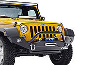 Передний бампер силовой тюнинг Jeep Wrangler JK DISCOVER
