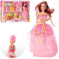 Кукла с набором платьев 065A1, платья 24шт.