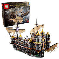 Конструктор 16042 (4шт) PT, пираты, корабль, фигурки, 2370дет, в кор-ке, 60-50,5-10см
