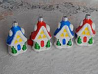 Новогодние игрушки на елку ввиде новогоднего домика