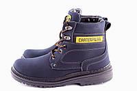 Зимние мужские ботинки в стиле CAT.