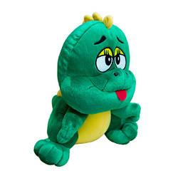 Мягкая игрушка Динозаврик зеленый
