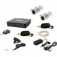 Комплект видеонаблюдения Tecsar 2OUT + HDD 500GB