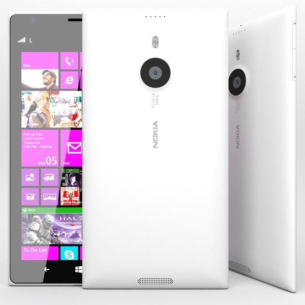 Cмартфон Nokia Lumia 1520 White 2gb\16gb 6FHD Win10 21mp 3400 mah
