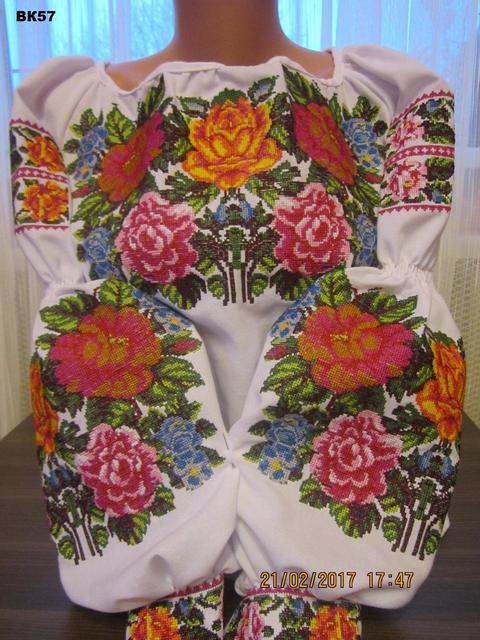 Женские вышитые платья и блузки
