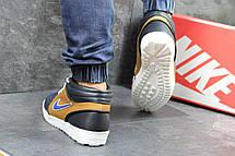 Мужские зимние кроссовки Nike кожаные,на меху 41,44р, фото 3