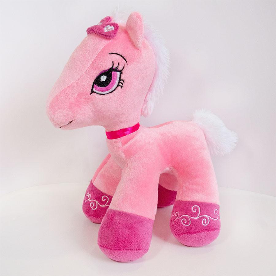 Мягкая игрушка Пони Арабелла розовая