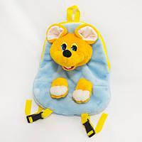 Рюкзак детский Мышка голубой