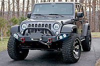 """Передний бампер силовой тюнинг Jeep Wrangler JK """"LP2"""""""