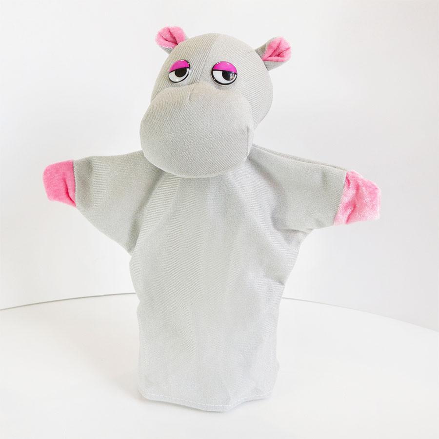 Игрушка рукавичка (кукольный театр) Бегемот
