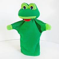 Игрушка рукавичка (кукольный театр) Лягушка