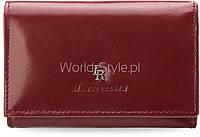 11-15 Красный кожаный женский кошелек lorenti внешний карман для монет 5902734919663