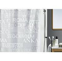Шторка для ванной (винил) - CITIES