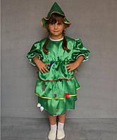 Премиум! Елочка Карнавальный Детский костюмчик, Комплектация 2 Элемента, Размеры 3-6 лет, Украина