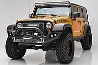 """Передний бампер силовой тюнинг  Jeep Wrangler JK """"LP3"""""""