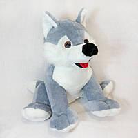 Плюшевая мягкая игрушка Волчонок, маленький волк