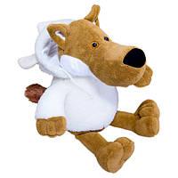 Игрушка Волк в овечьей шкуре плюшевая мягкая игрушка Вовк