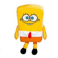 Игрушка Губка Боб закрытый рот плюшевая мягкая игрушка