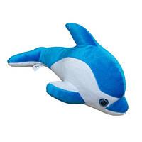 Плюшевая мягкая игрушка Дельфин мини