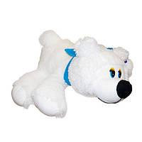Медведь с шарфом большой мягкая игрушка