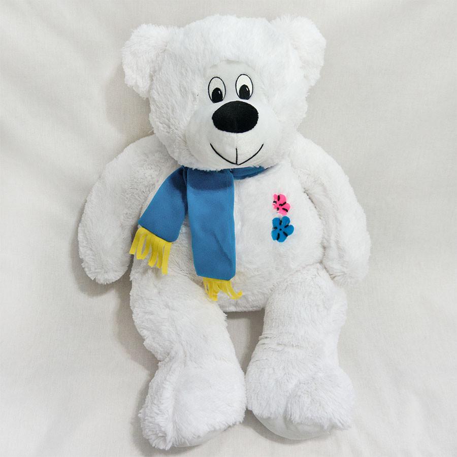 Плюшевый мишка. Мягкая плюшевая игрушка Медведь Косолапый белый 67 см