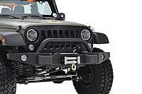 """Передний бампер силовой тюнинг  Jeep WranglerJK """"PARAMOUNT PREMIUM"""""""