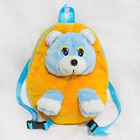 Рюкзак детский Медведь желтый