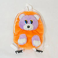 Рюкзак детский Медведь оранжевый