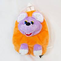 Рюкзак детский Мышка оранжевый