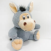 Мягкая игрушка Ослик сидячий маленький 29 см