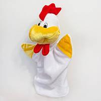 Мягкая игрушка рукавичка для конфет Петушок Петя