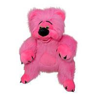 Мягкая игрушка Мишутка Медовик большой розовый